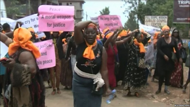 Protests Greet Biya emissary in Southern Cameroons