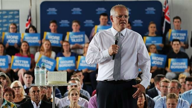 Australian Prime Minister attacked with egg on campaign trail