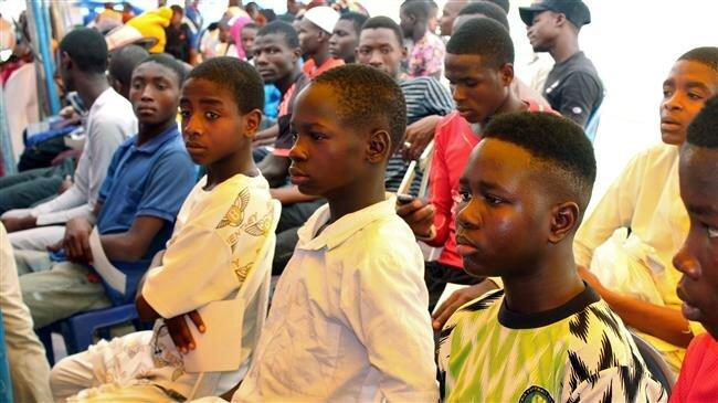 Nigerian pro-government militia force sets free 900 child recruits