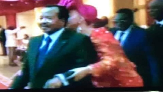 Protests mar Biya's visit to Geneva