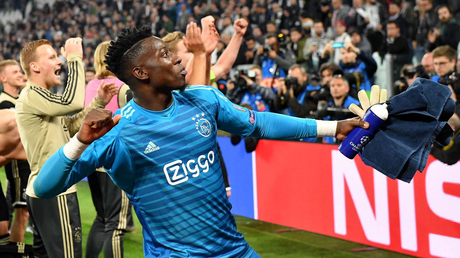 Cameroonian Ajax goalkeeper Onana suspended one year for doping