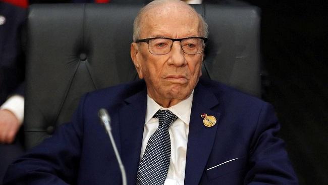 Tunisia president Béji Caïd Essebsi dies at 92