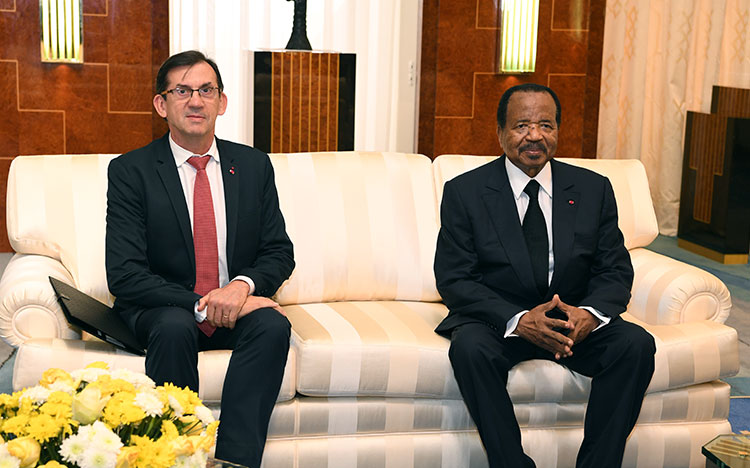 Yaounde: French surrogate meets outgoing French ambassador