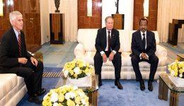 Doing Business With A War Criminal: Geovic Mining Corporation Chairman Meets Biya