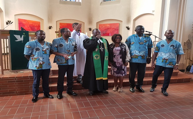 Germany: Moderator Fonki Samuel calls for unity and peace amid crisis in the PCC