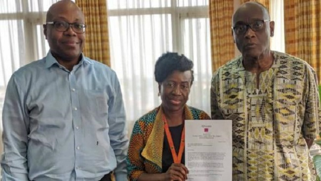 Accra: Pan-African Group delivers letter to Ghanaian Foreign Minister demanding AU intervention in Southern Cameroons
