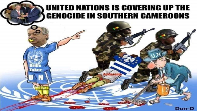 Ambazonia: Much of French Cameroun army crimes unreported, rape complaints ignored by Biya regime
