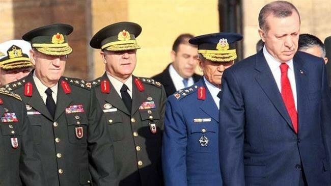 Five Turkish generals handed in resignations