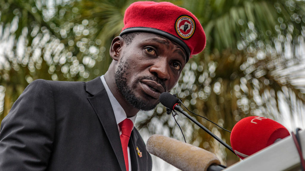 Political crackdown intensifies in Uganda as Bobi Wine charged with 'annoying' Museveni