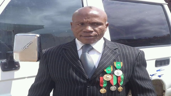 Cameroon wrestling legend Jacob Mbeng, better known as Super Makia,has died aged 61
