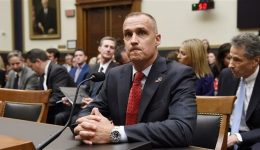 President Trump Impeachment: House Democrats grill former campaign manager