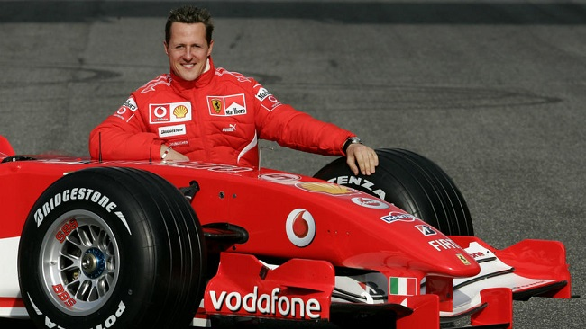 Michael Schumacher 'admitted to Paris hospital for cell therapy'