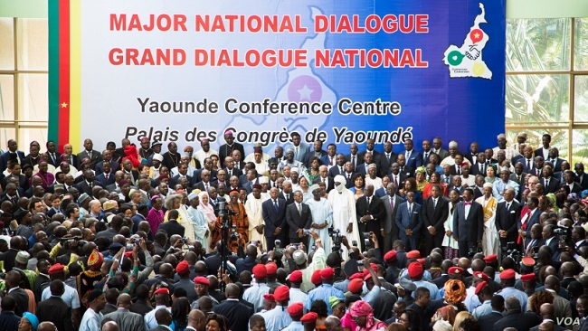 Biya dialogue on Southern Cameroons violence