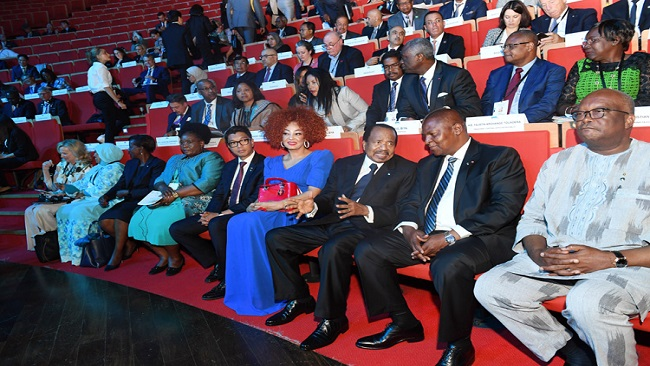 Biya Attends Opening Ceremony of Global Fund's 6th Replenishment Conference