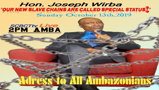 Southern Cameroons Crisis: Hon. Wirba finds problematic points in Biya's Anglophone new deal