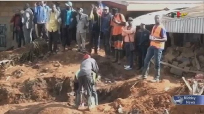 French Cameroun: Biya declares national mourning day for landslide victims