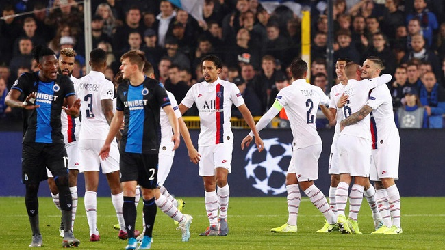 Champions League: Mbappe scores hat-trick putting PSG in last 16 driving-seat