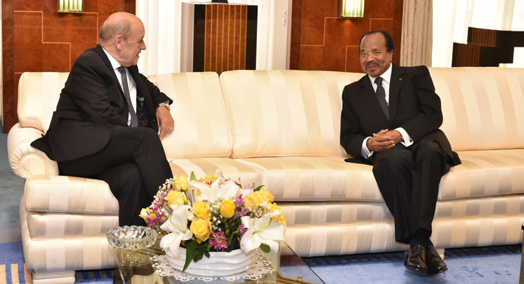 French FM expresses support for peace efforts in Southern  Cameroons