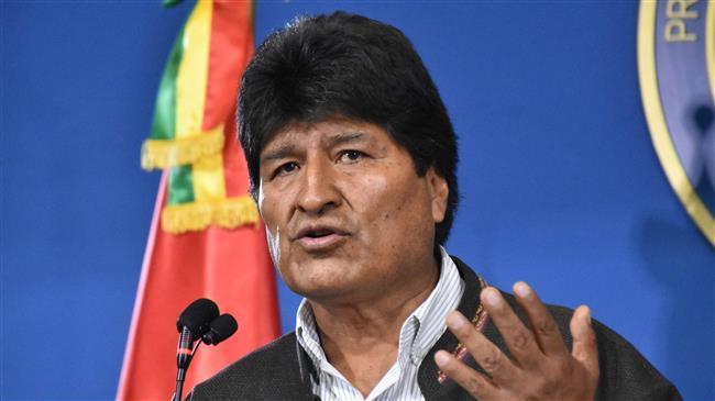 Bolivia orders arrest of ex-president Morales