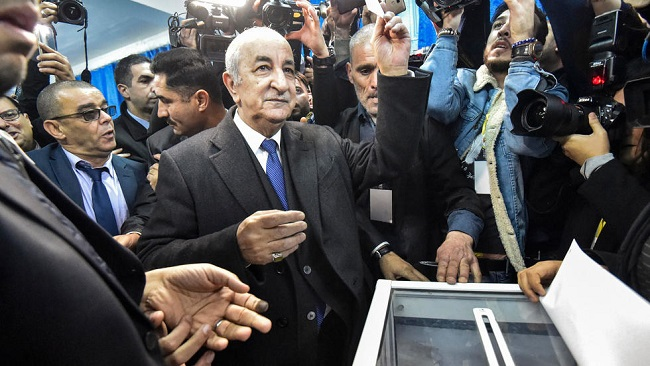 Algeria: Ex-PM Tebboune wins CPDM style presidential election
