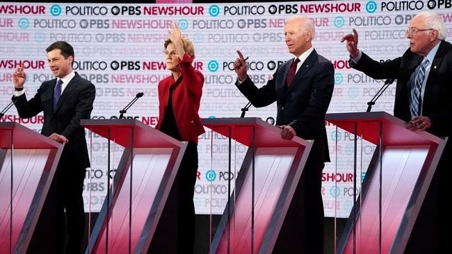US: Democratic candidates spar in contentious presidential debate