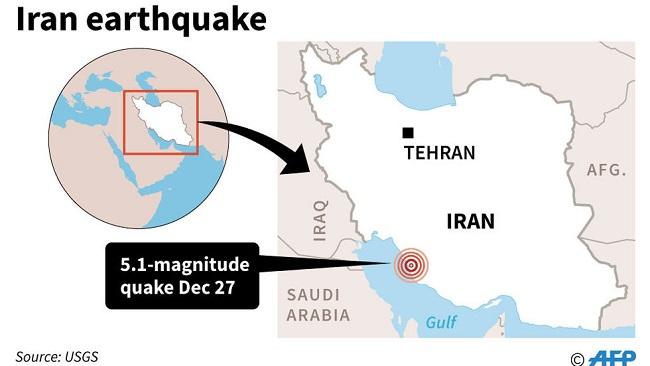 Quake strikes near Iran nuclear power plant