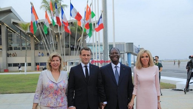 France-Afrique: Macron in Ivory Coast: meets troops, set to launch anti-terrorism academy