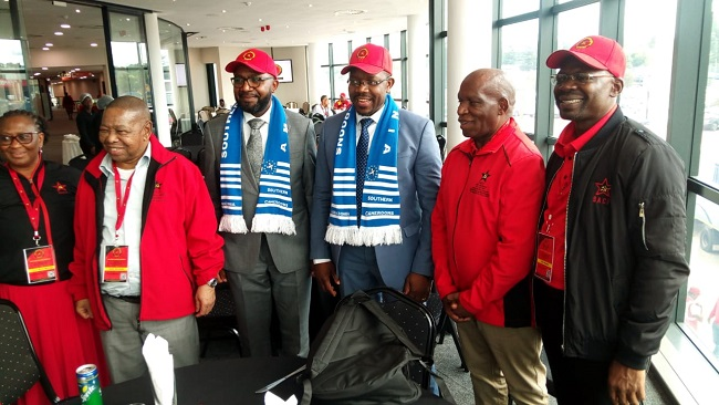 Johannesburg: Ambazonia Vice President appeals to the world for help against French Cameroun military