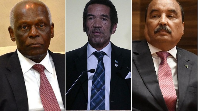 When successors rebel against their mentors: Mauritania, Angola, Botswana
