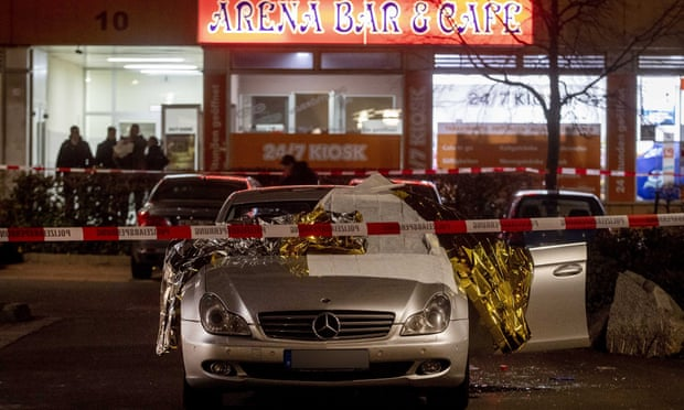 Shootings at two bars in Germany leave eight dead