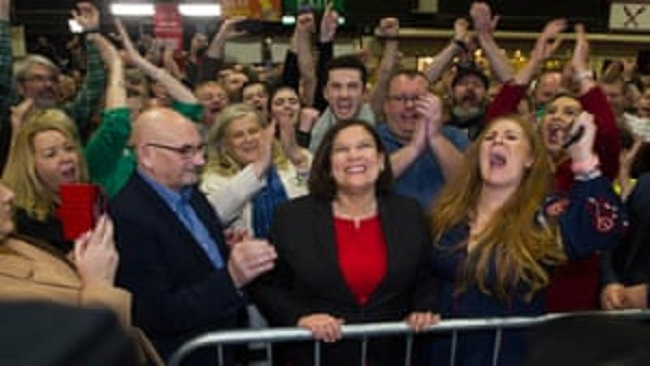 Irish nationalists Sinn Fein demand place in government after election success