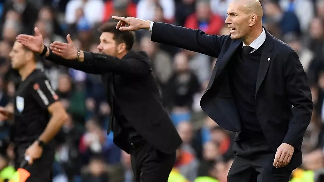 Spanish Football: Zidane inspires Real Madrid to derby victory over Atletico