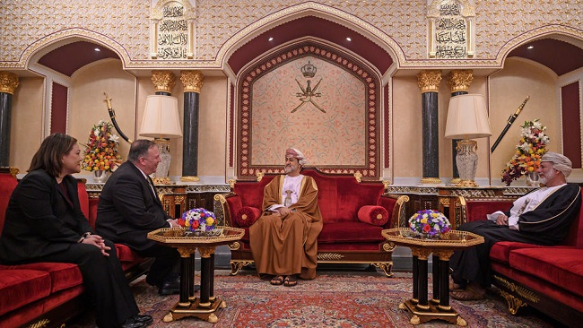 US Secretary of State meets new Sultan of Oman