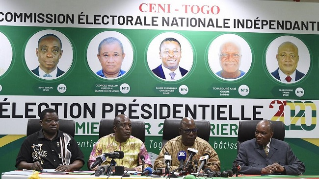 Togo's President Faure Gnassingbé wins fourth term