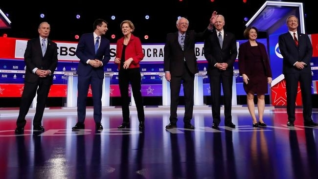 Race for the White House: Sanders parries attacks from all sides in raucous US Democratic Presidential debate