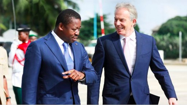 The British Empire: Tony Blair, the man who whispers in the ears of Africa's presidents