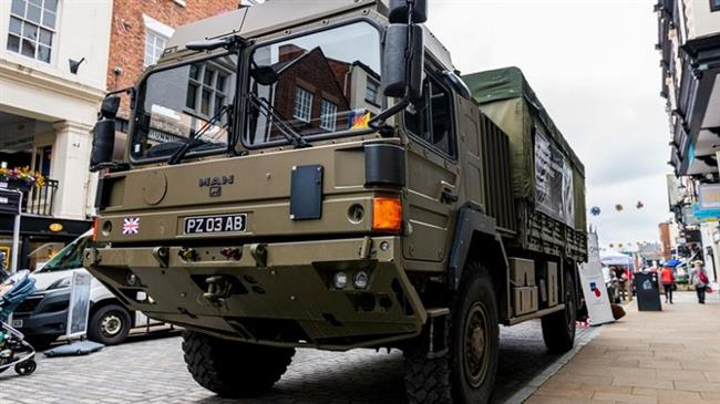 British army intervenes to forestall collapse of NHS