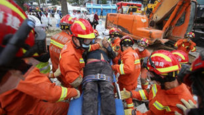Several killed in collapse of hotel in China used as virus quarantine site