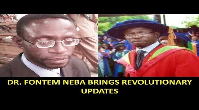 Why Dr Fontem Neba is a symbol of the Ambazonia Resistance