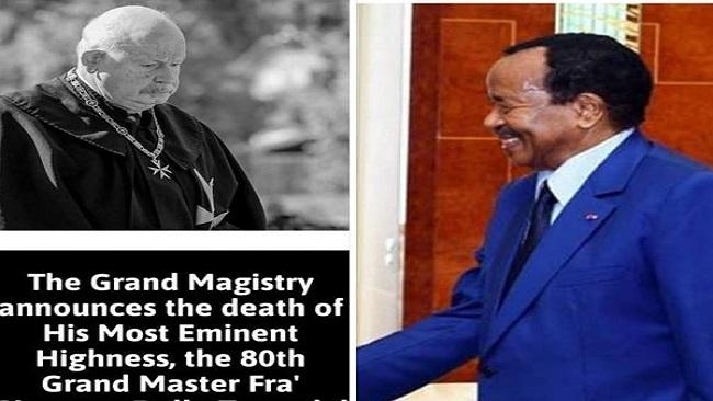 Biya Acolyte:  Grand Master of the Order of Malta Dies in Rome