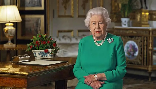 Queen Elizabeth calls for 'self-discipline' in coronavirus fight