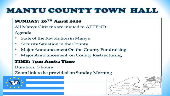 Manyu County Town Hall Meeting: A time for real change