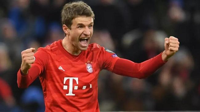 Football: Mueller extends Bayern deal until 2023