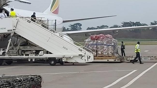 Yaounde receives coronavirus aid