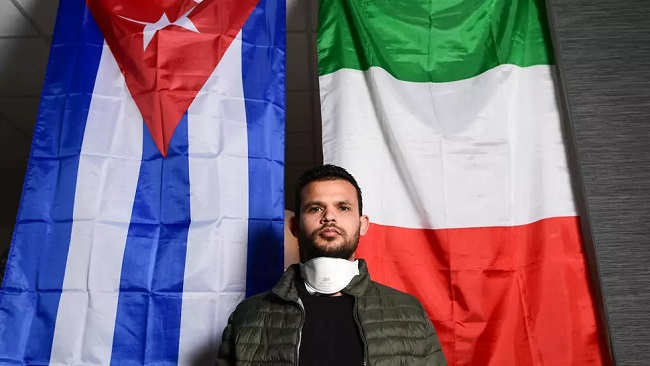 Young Cuban doctor helps with Italy's battle against Covid-19