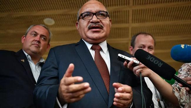 Papua New Guinea ex-PM arrested over corruption