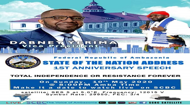 Southern Cameroons: Vice President Yerima to deliver State of the Nation address tonight on SCBC