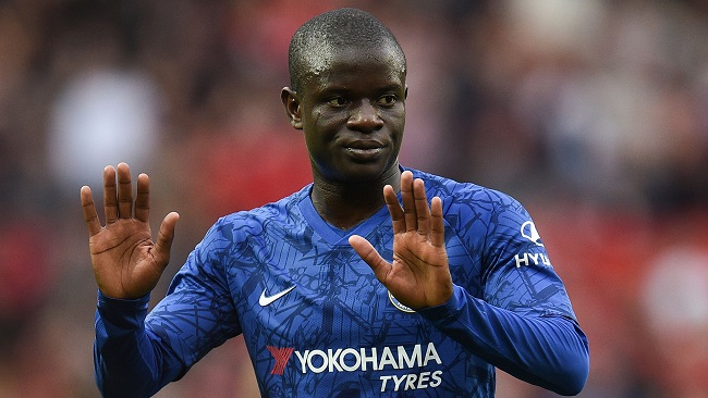 Football: Kante stays away from Chelsea training over virus fears
