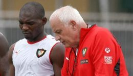 Former Cameroon and Ghana coach Pfister says Eto'o and Abedi Pele are the best he ever coached