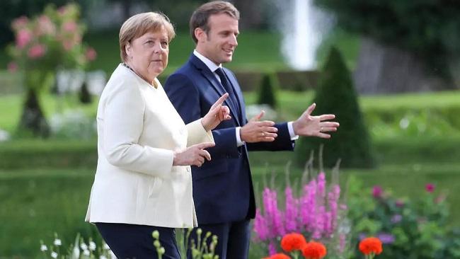 Macron and Merkel push Covid-19 recovery fund as Germany takes on EU presidency